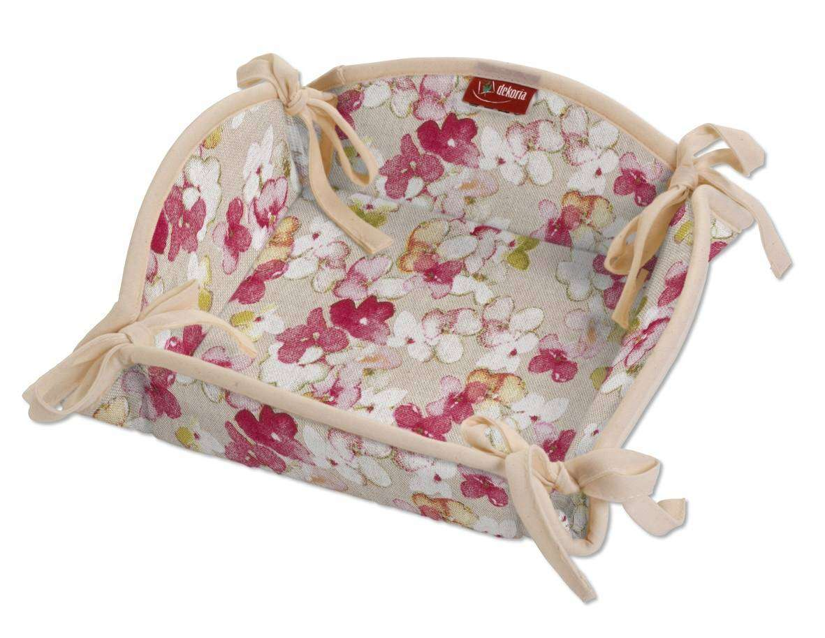 Breadbasket 20 x 20 cm (8 x 8 inch) in collection Londres, fabric: 140-47