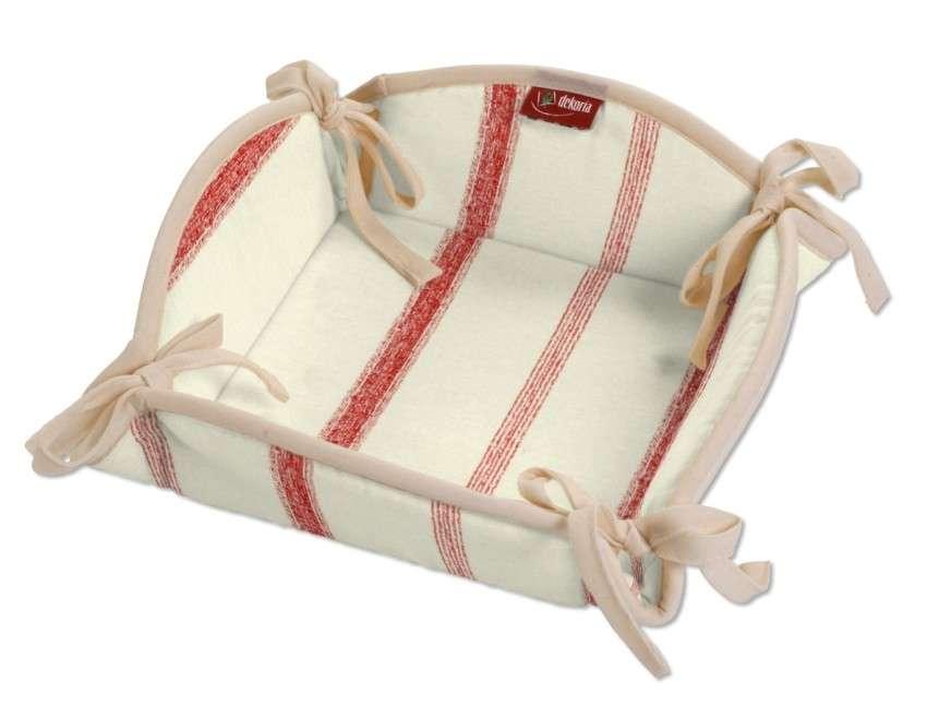 Koszyk na pieczywo 20x20 cm w kolekcji Avinon, tkanina: 129-15