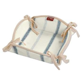 Košík na pečivo podle látek 20 x 20 cm v kolekci Avignon, látka: 129-66