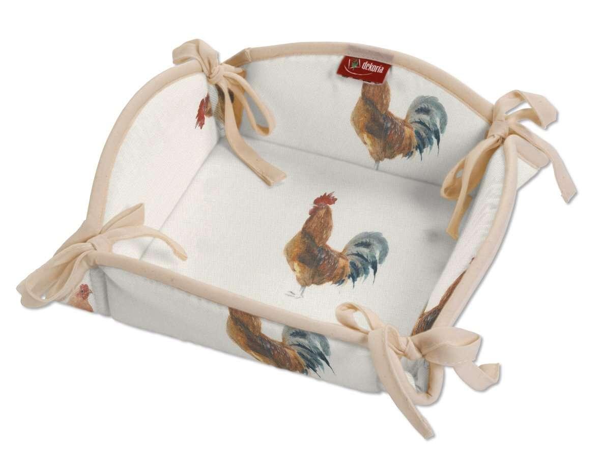 Textilný košík V kolekcii Flowers, tkanina: 141-80
