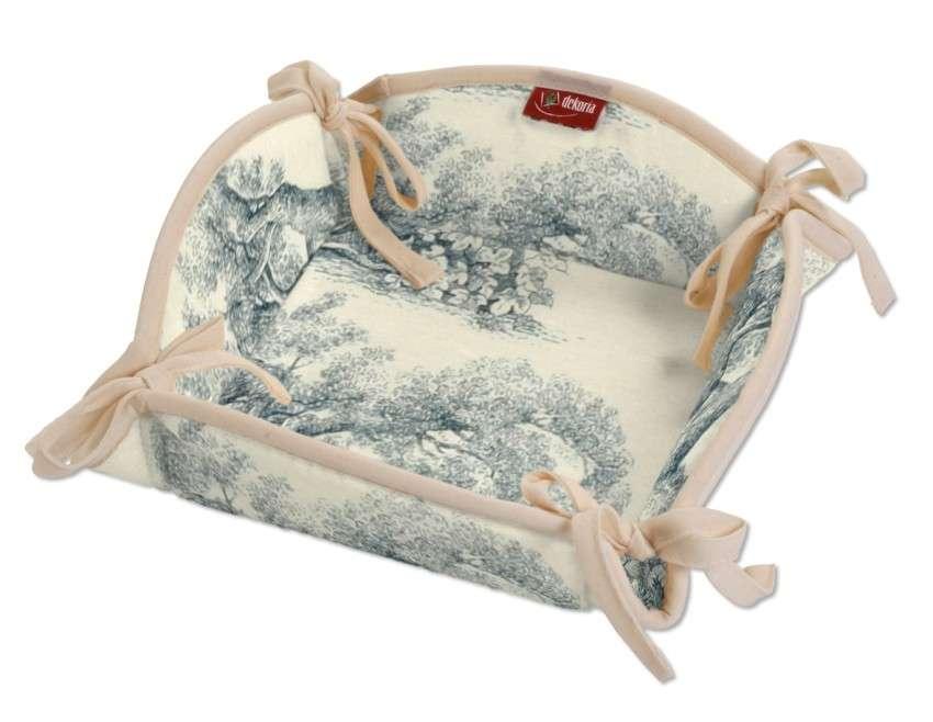 Koszyk 20x20 cm w kolekcji Avinon, tkanina: 132-66