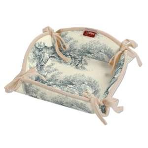 Koszyk na pieczywo 20x20 cm w kolekcji Avinon, tkanina: 132-66