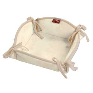 Koszyk na pieczywo 20x20 cm w kolekcji Damasco, tkanina: 613-01