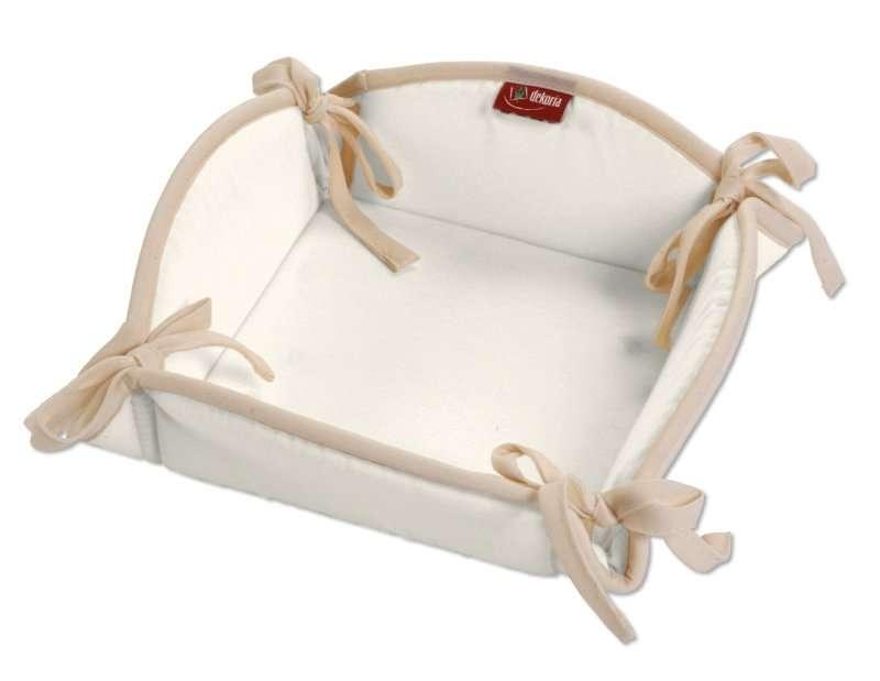 Košík na pečivo podle látek 20 x 20 cm v kolekci Jupiter, látka: 127-00