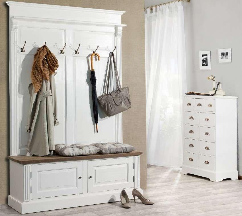 Garderobe Brighton  139cmx41cmx210cm