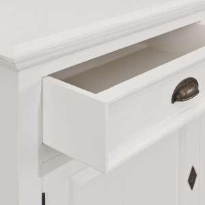 Komoda Brighton 4 drzwi + 4 szuflady white 236x55x95cm