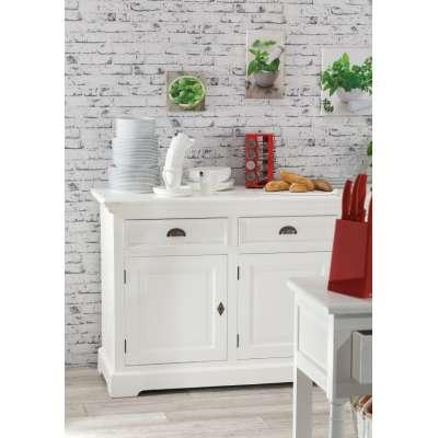 Komoda Brighton 4 drzwi + 4 szuflady white