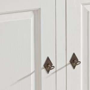 Kommode Brighton mit 3 Schubladen und 2 Türen, white 140cmx48cmx80cm