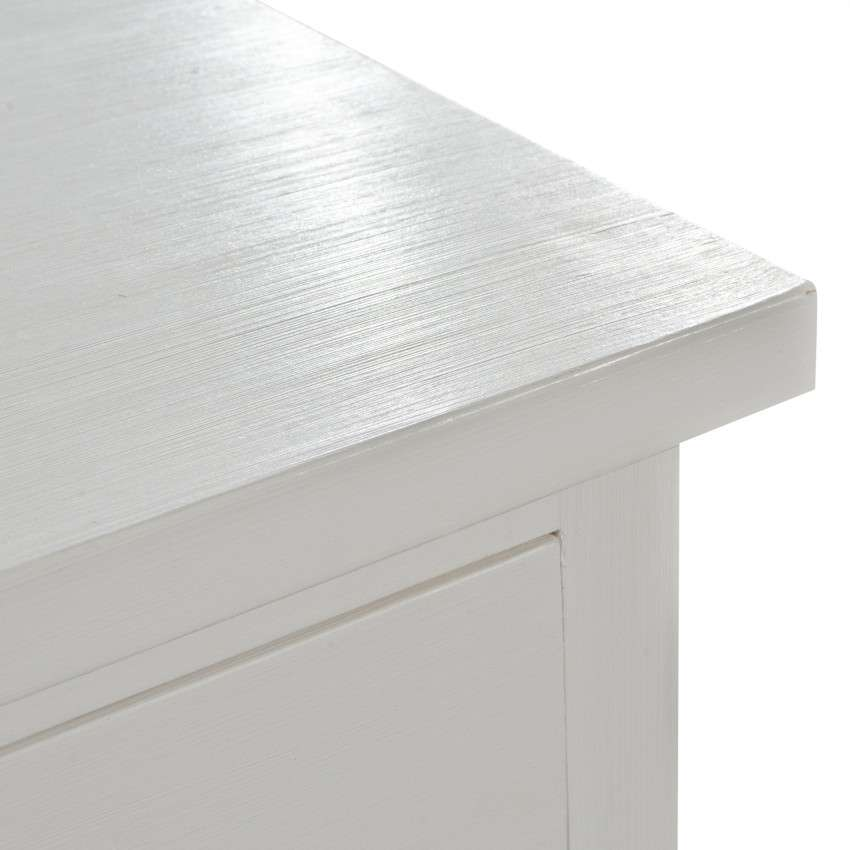 Komoda Brighton 3 szuflady  + 2 drzwi white 140x48x80cm