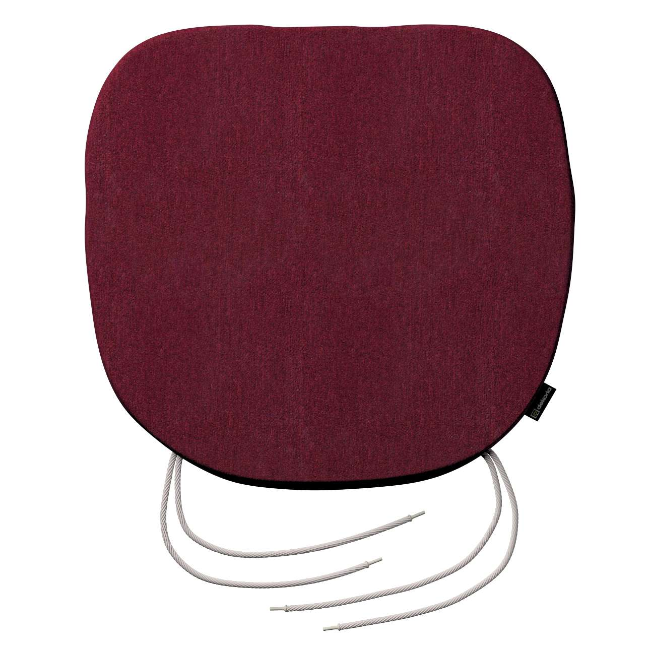 Siedzisko Bartek na krzesło 40x37x2,5cm w kolekcji Chenille, tkanina: 702-19