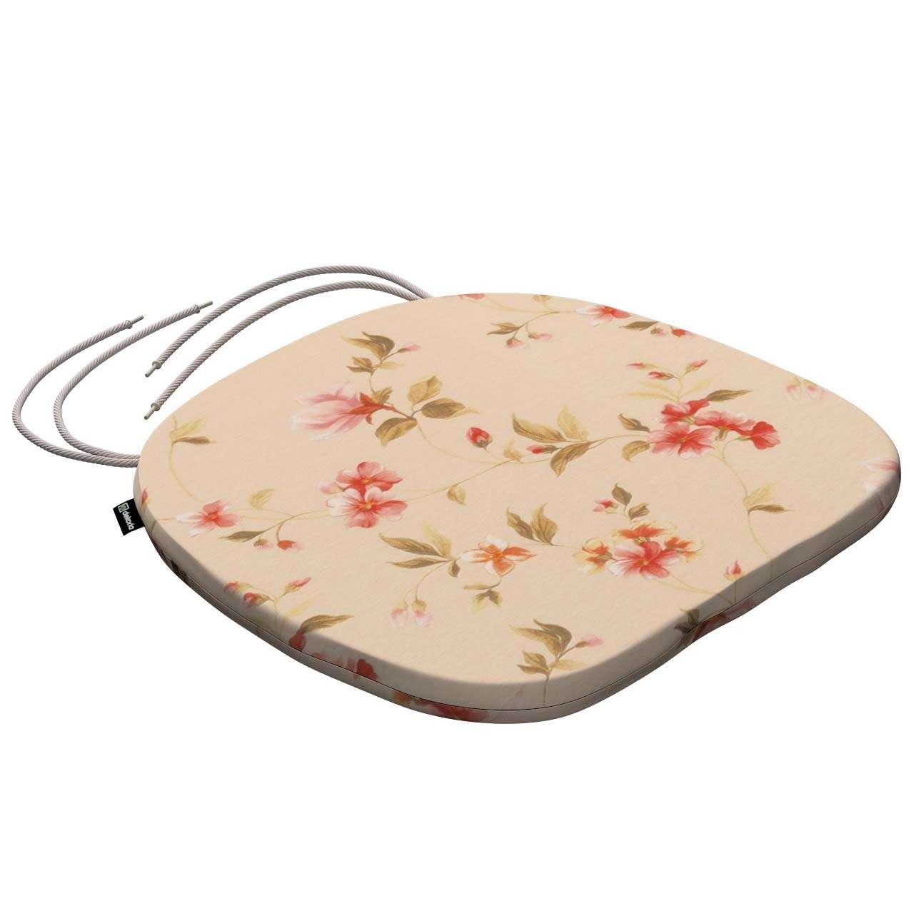 Siedzisko Bartek na krzesło 40x37x2,5cm w kolekcji Londres, tkanina: 124-05
