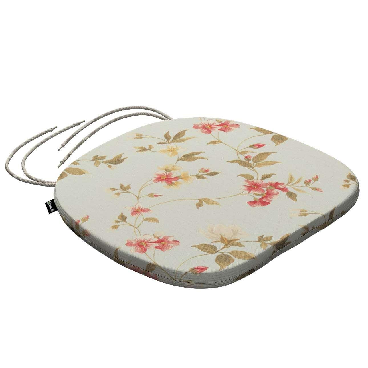 Siedzisko Bartek na krzesło 40x37x2,5cm w kolekcji Londres, tkanina: 124-65