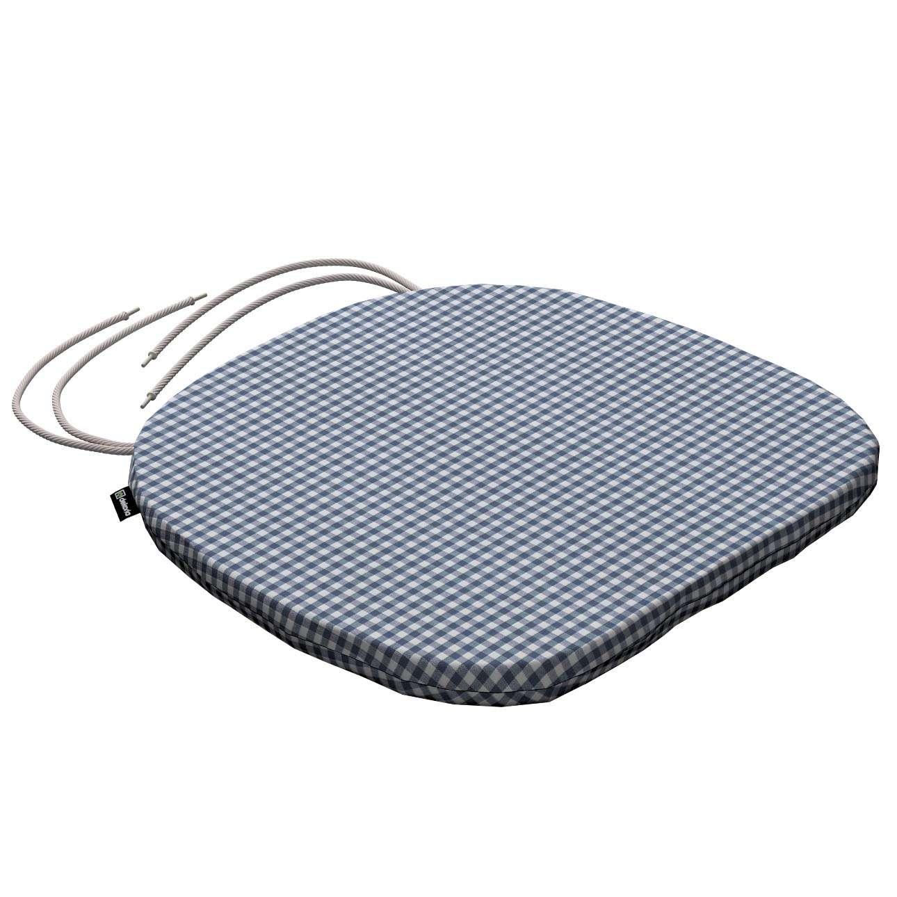 Siedzisko Bartek na krzesło 40x37x2,5cm w kolekcji Quadro, tkanina: 136-00
