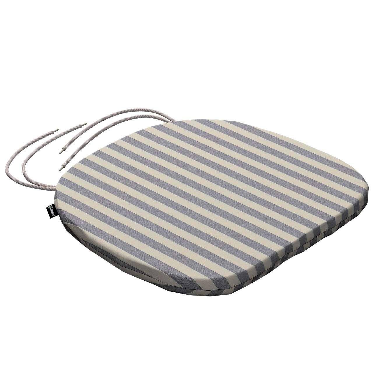 Siedzisko Bartek na krzesło 40x37x2,5cm w kolekcji Quadro, tkanina: 136-02