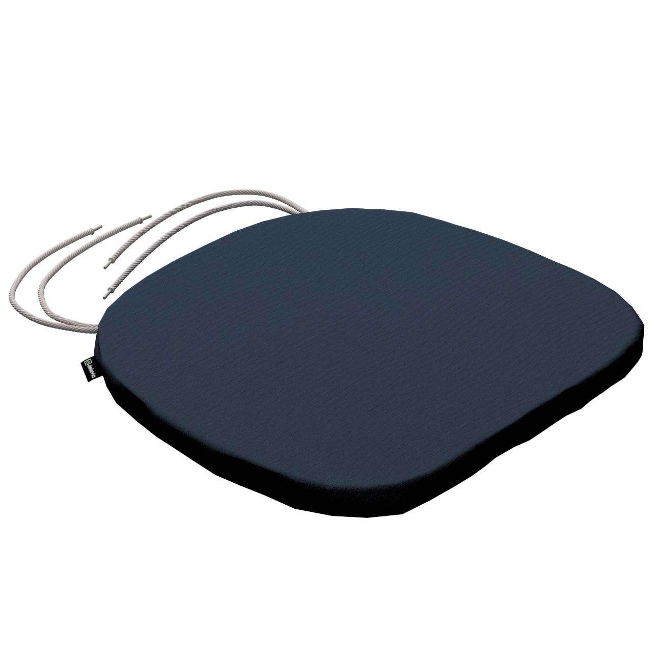 Siedzisko Bartek na krzesło 40x37x2,5cm w kolekcji Quadro, tkanina: 136-04