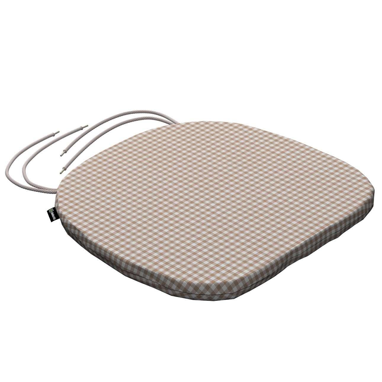 Siedzisko Bartek na krzesło 40x37x2,5cm w kolekcji Quadro, tkanina: 136-05