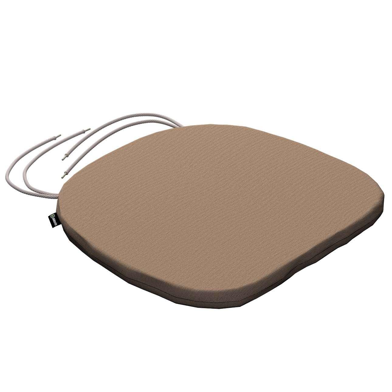 Siedzisko Bartek na krzesło 40x37x2,5cm w kolekcji Quadro, tkanina: 136-09