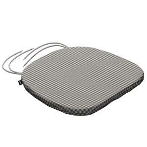 Siedzisko Bartek na krzesło 40x37x2,5cm w kolekcji Quadro, tkanina: 136-10