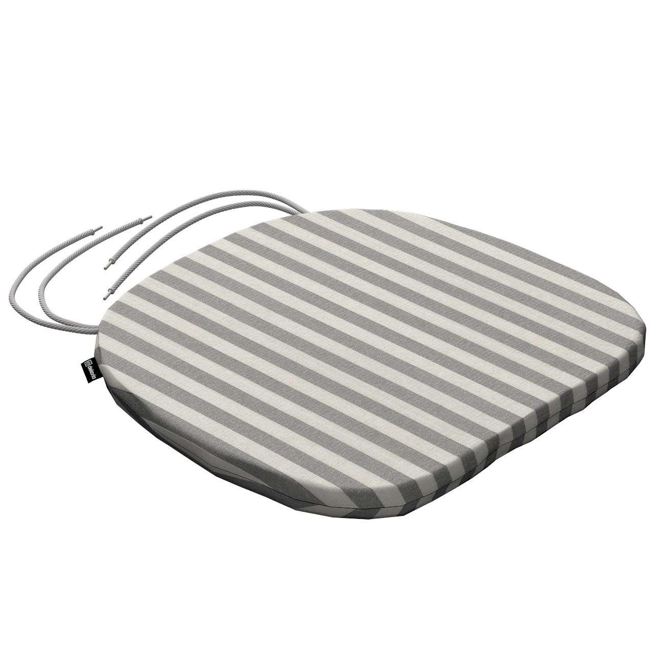 Siedzisko Bartek na krzesło 40x37x2,5cm w kolekcji Quadro, tkanina: 136-12