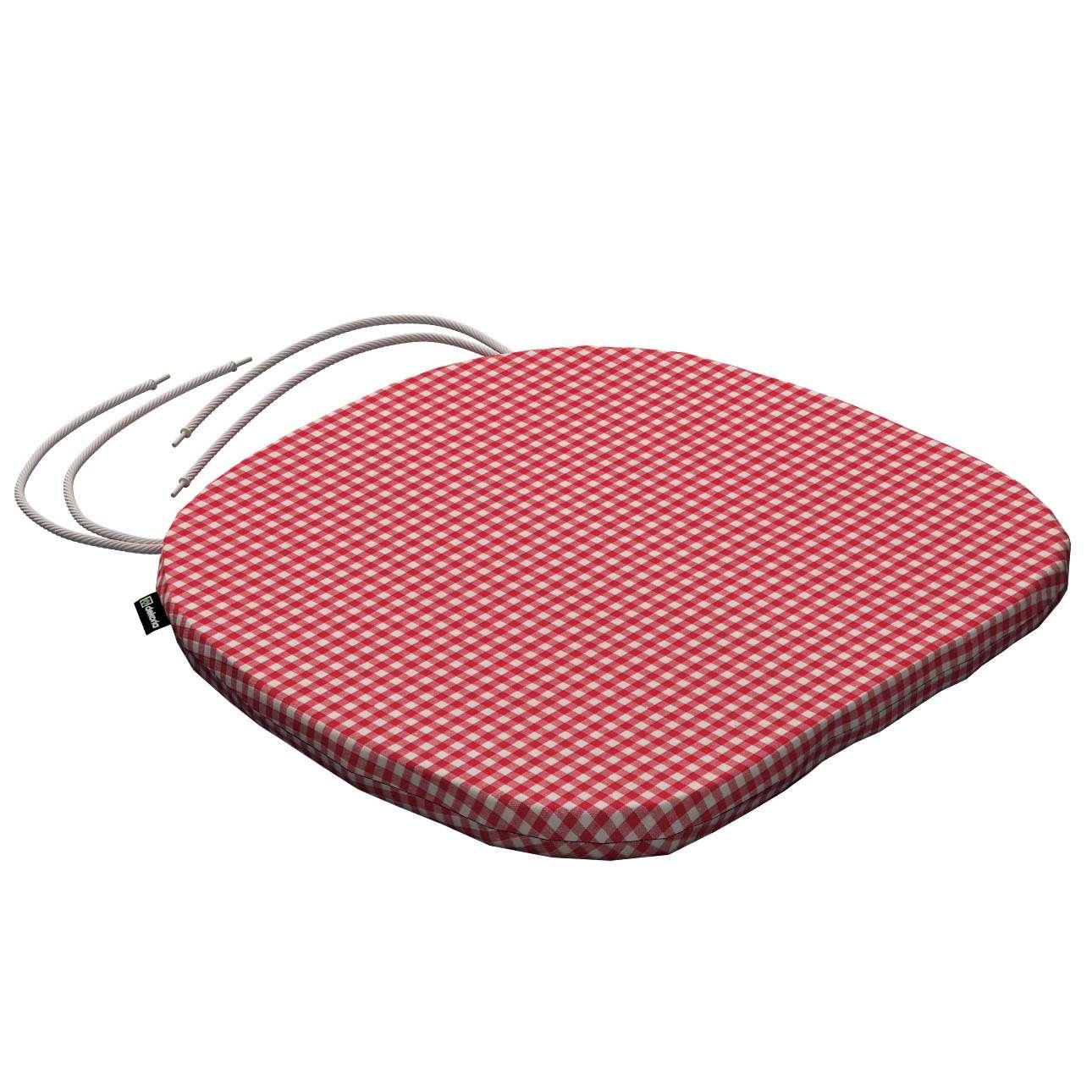 Siedzisko Bartek na krzesło 40x37x2,5cm w kolekcji Quadro, tkanina: 136-15