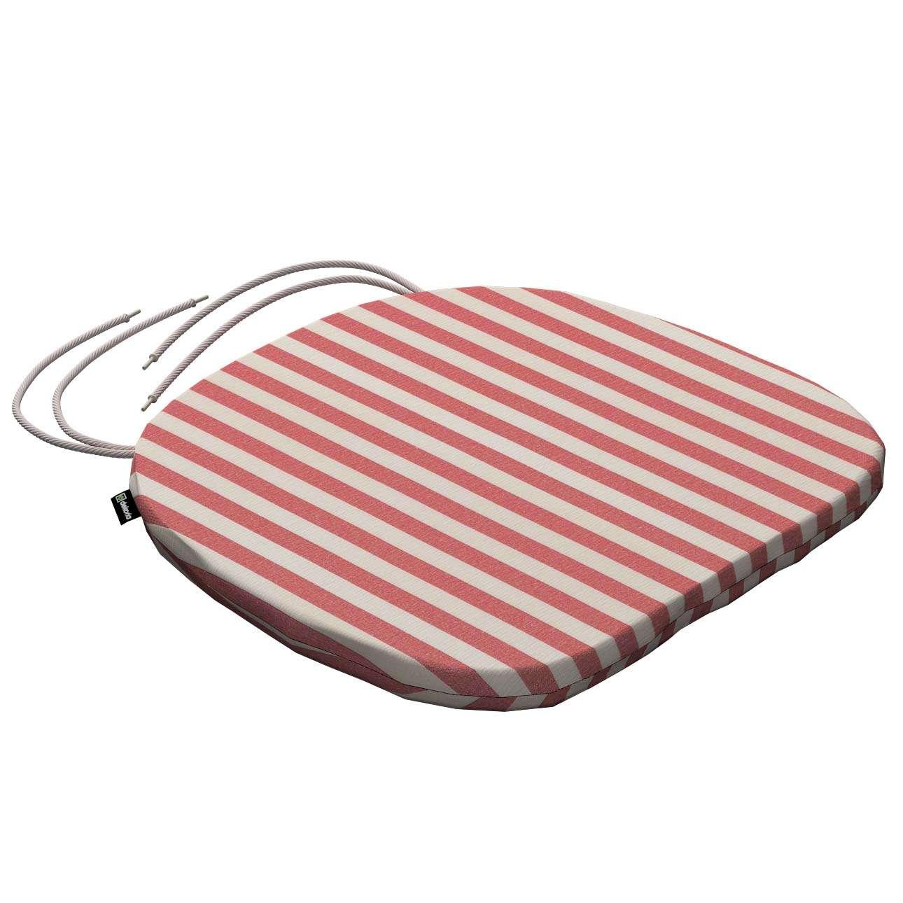 Siedzisko Bartek na krzesło 40x37x2,5cm w kolekcji Quadro, tkanina: 136-17