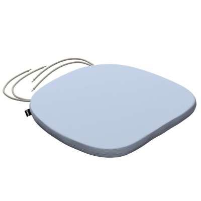Siedzisko Bartek na krzesło 133-35 pastelowy niebieski Kolekcja Loneta