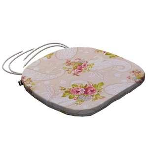 Siedzisko Bartek na krzesło 40x37x2,5cm w kolekcji Flowers, tkanina: 311-15