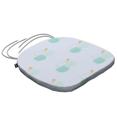 Kėdės pagalvėlė Bartek 151-02 Pastelinės žalios šviesiame fone Kolekcija Little World