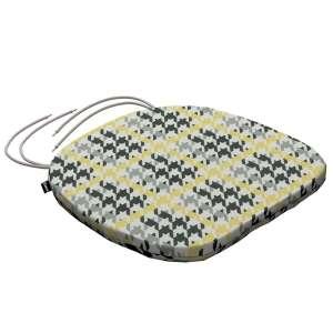 Siedzisko Bartek na krzesło 40x37x2,5cm w kolekcji Brooklyn, tkanina: 137-79