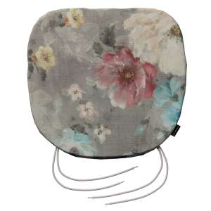 Siedzisko Bartek na krzesło 40x37x2,5cm w kolekcji Monet, tkanina: 137-81