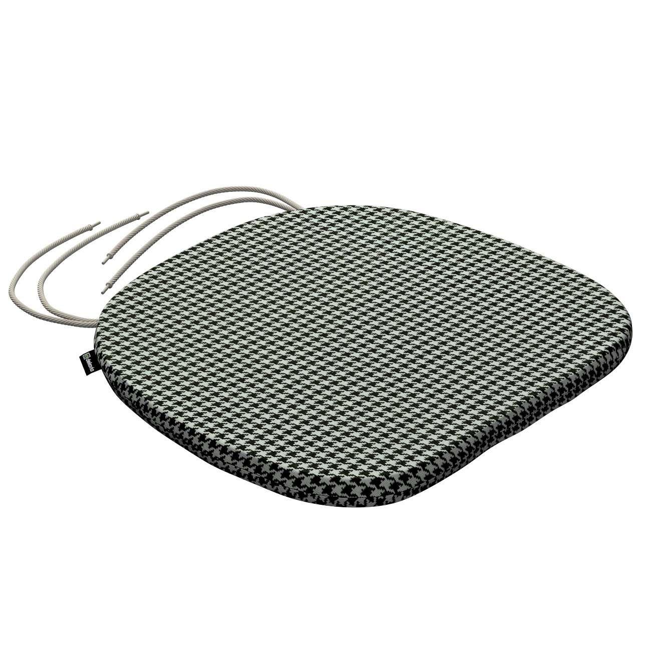 Siedzisko Bartek na krzesło w kolekcji Black & White, tkanina: 142-77
