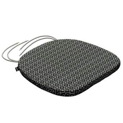 Siedzisko Bartek na krzesło w kolekcji Black & White, tkanina: 142-86