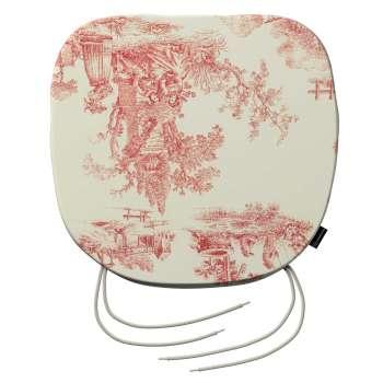 Siedzisko Bartek na krzesło 40x37x2,5cm w kolekcji Avinon, tkanina: 132-15