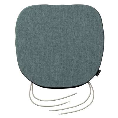 Bart seat pad with ties 704-85 gray blue chenille Collection City