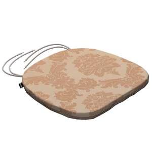 Siedzisko Bartek na krzesło 40x37x2,5cm w kolekcji Damasco, tkanina: 613-04