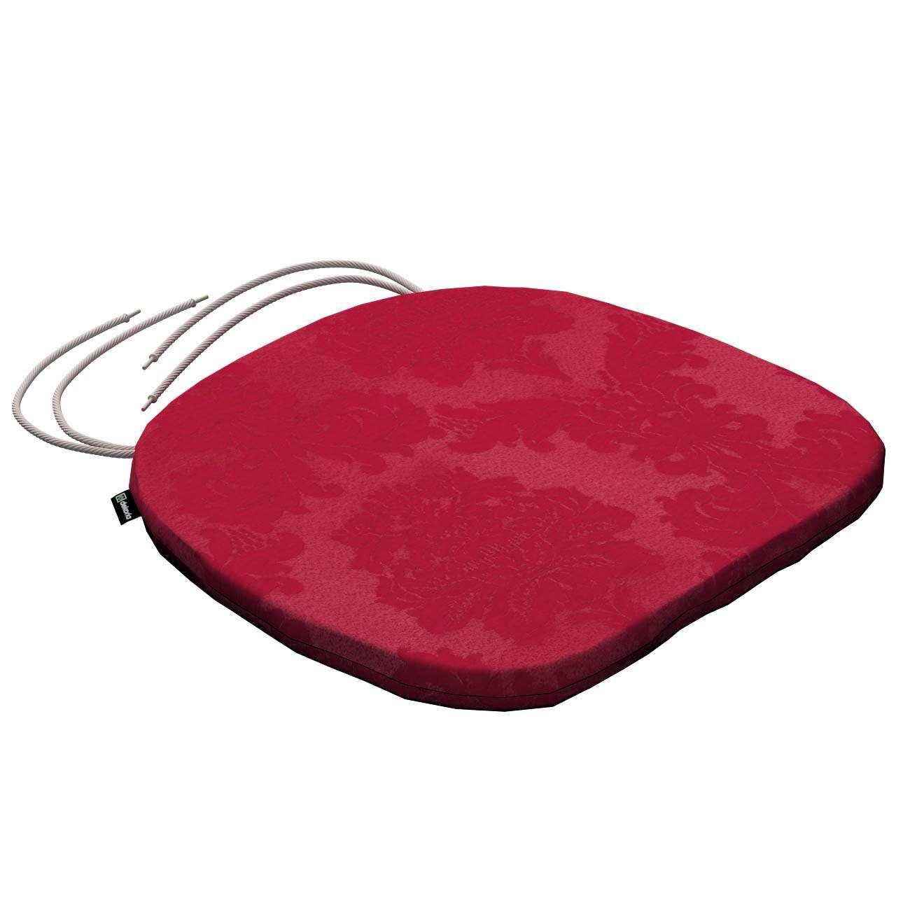 Siedzisko Bartek na krzesło w kolekcji Damasco, tkanina: 613-13