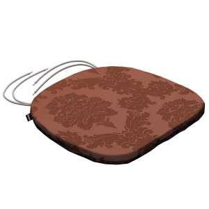 Siedzisko Bartek na krzesło 40x37x2,5cm w kolekcji Damasco, tkanina: 613-88