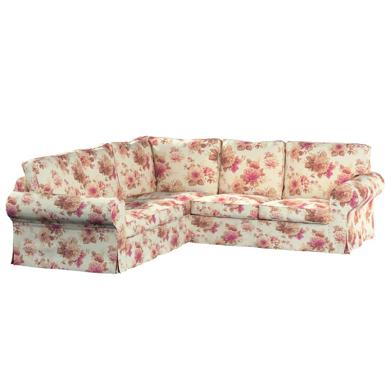 Pokrowiec na sofę Ektorp narożną Sofa Ektorp narożna w kolekcji Mirella, tkanina: 141-06