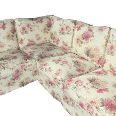 Pokrowiec Ektorp na sofę narożną w kolekcji Londres, tkanina: 141-07