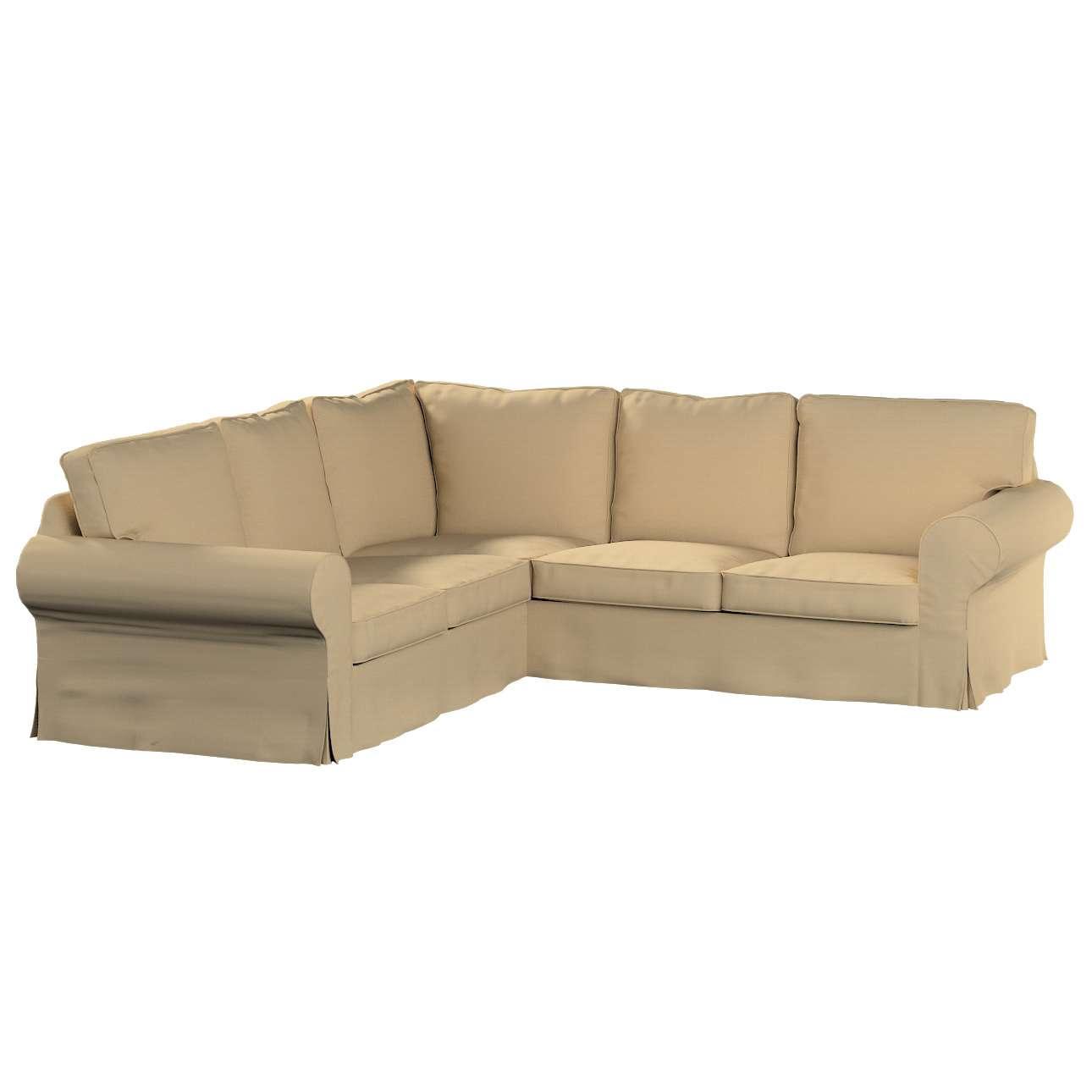 Pokrowiec na sofę Ektorp narożną Sofa Ektorp narożna w kolekcji Cotton Panama, tkanina: 702-01