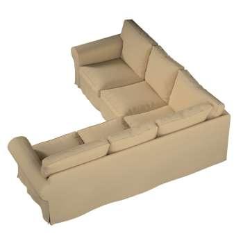 Ektorp kampinė sofa kolekcijoje Cotton Panama, audinys: 702-01