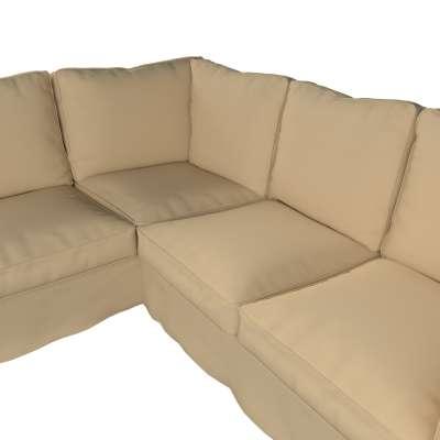 Pokrowiec Ektorp na sofę narożną w kolekcji Cotton Panama, tkanina: 702-01