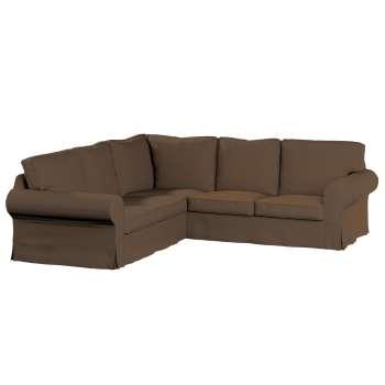 Pokrowiec na sofę Ektorp narożną Sofa Ektorp narożna w kolekcji Cotton Panama, tkanina: 702-02