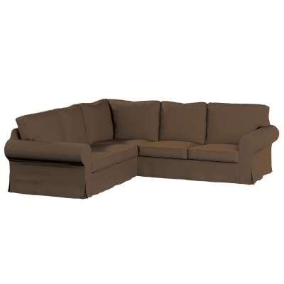 Pokrowiec Ektorp na sofę narożną w kolekcji Cotton Panama, tkanina: 702-02