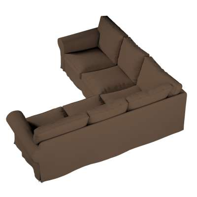 Pokrowiec na sofę narożną Ektorp w kolekcji Cotton Panama, tkanina: 702-02