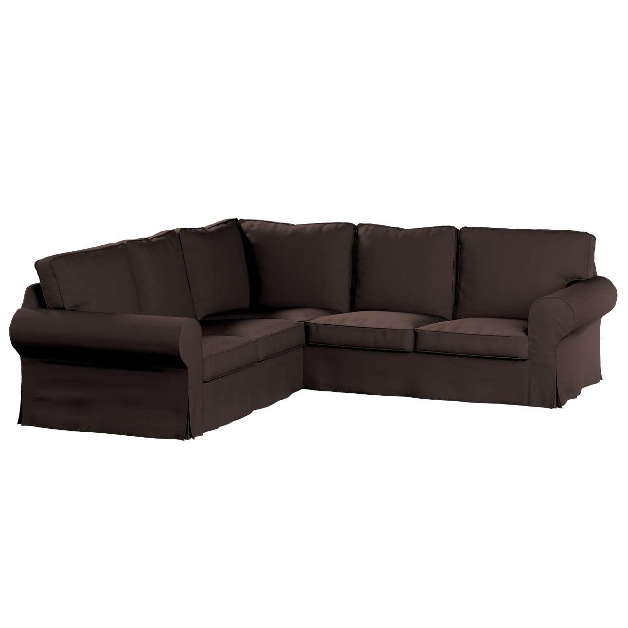 Pokrowiec na sofę Ektorp narożną Sofa Ektorp narożna w kolekcji Cotton Panama, tkanina: 702-03