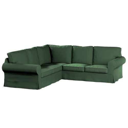Ektorp Ecksofabezug, waldgrün, Sofahusse, Ektorp Ecksofa, Cotton Panama