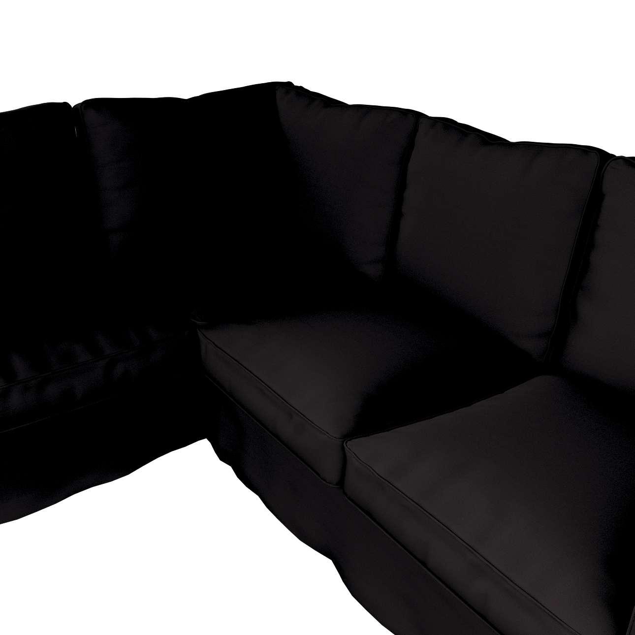 Pokrowiec Ektorp na sofę narożną w kolekcji Cotton Panama, tkanina: 702-09
