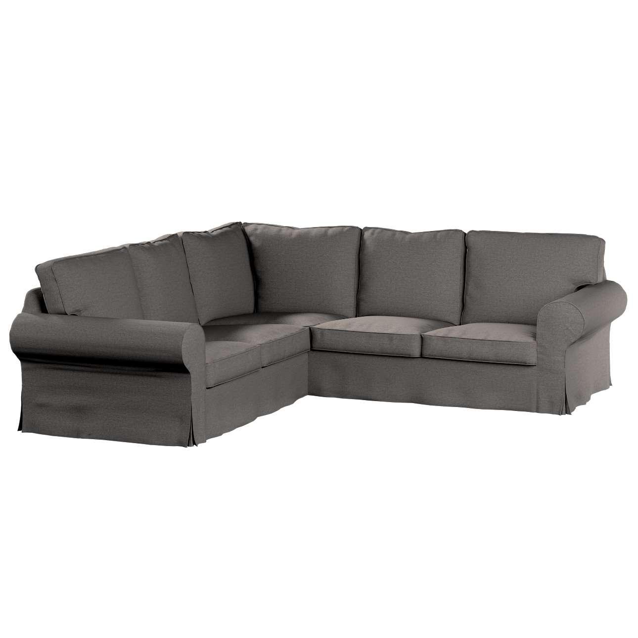 Pokrowiec na sofę narożną Ektorp w kolekcji Edinburgh, tkanina: 115-77