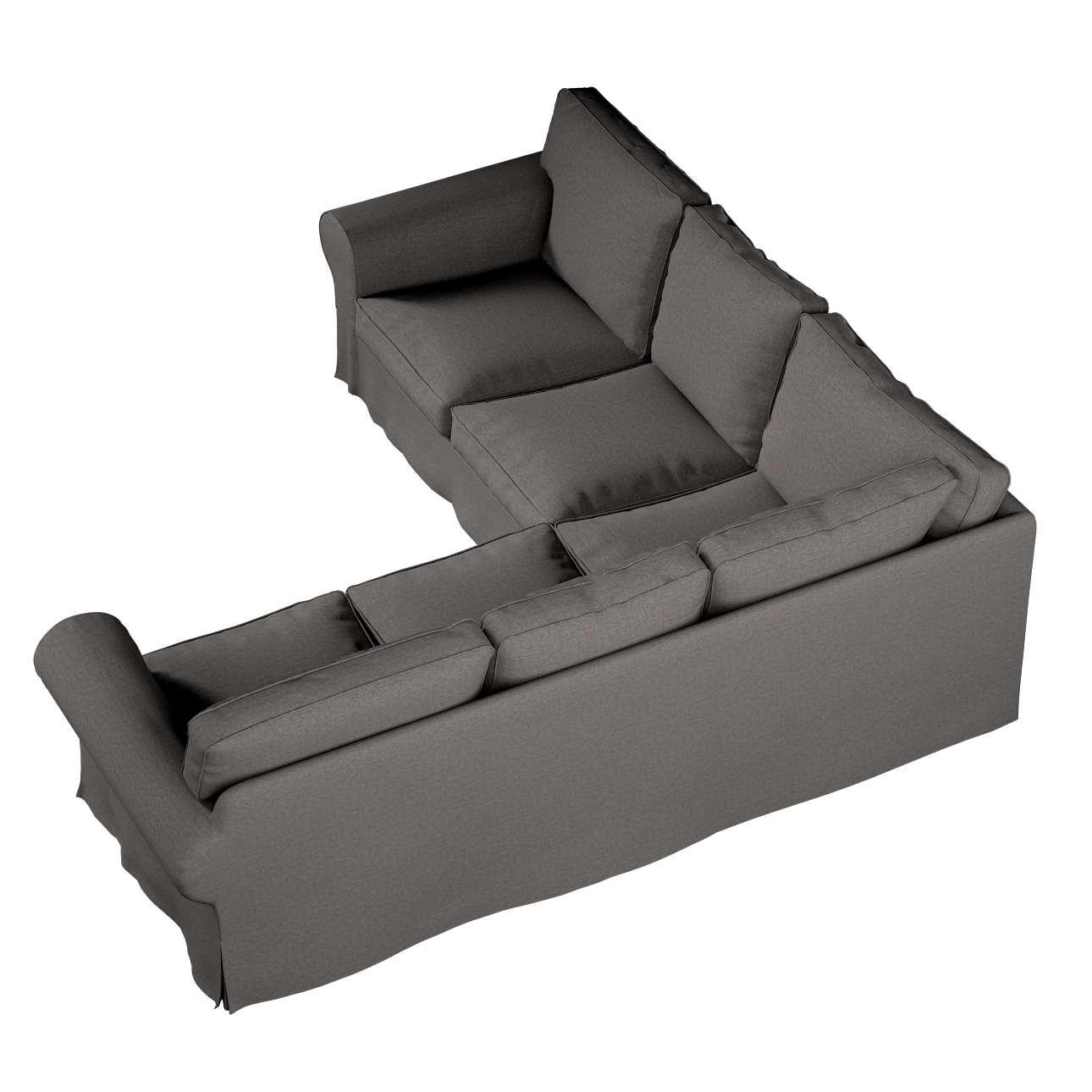 Pokrowiec Ektorp na sofę narożną w kolekcji Edinburgh, tkanina: 115-77